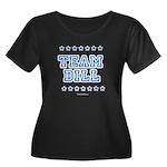 Team Bill Women's Plus Size Scoop Neck Dark T-Shir