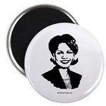 Condi Rice Face Magnet