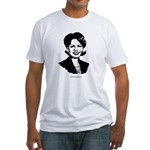Condi Rice Face Fitted T-Shirt