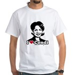 I Love Condi White T-Shirt