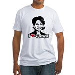 I Love Condi Fitted T-Shirt