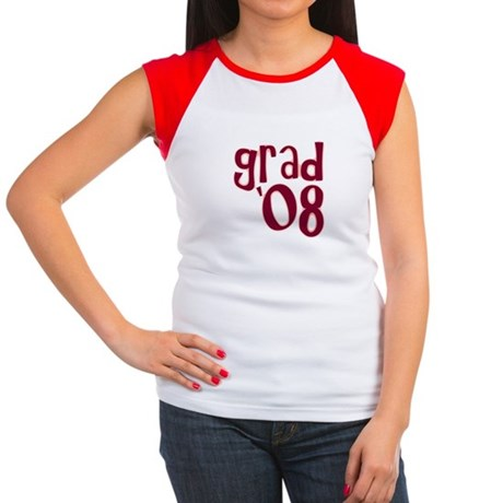 Grad 08 - Brick Red - Women's Cap Sleeve T-Shirt