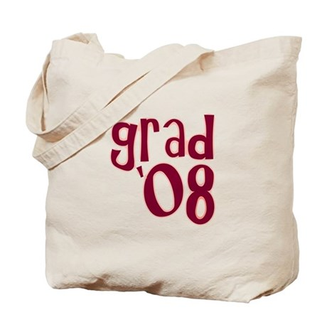 Grad 08 - Brick Red - Tote Bag