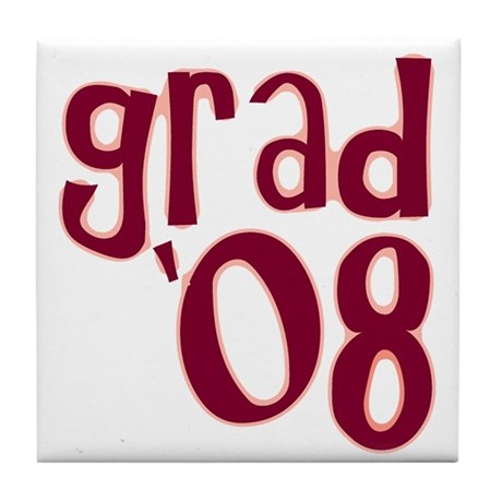 Grad 08 - Brick Red - Tile Coaster