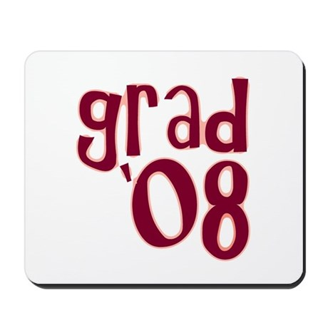 Grad 08 - Brick Red - Mousepad