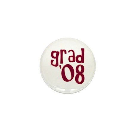 Grad 08 - Brick Red - Mini Button