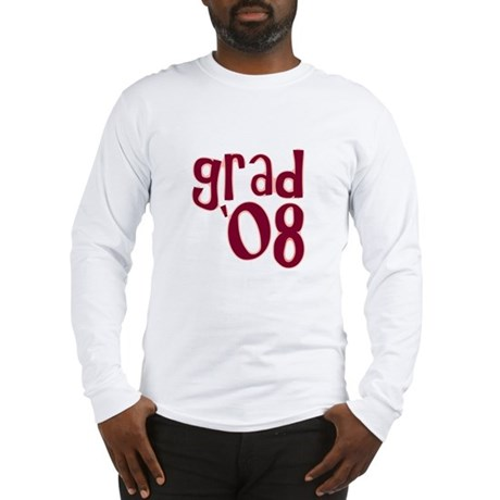 Grad 08 - Brick Red - Long Sleeve T-Shirt
