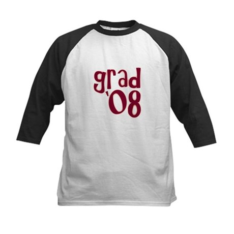 Grad 08 - Brick Red - Kids Baseball Jersey