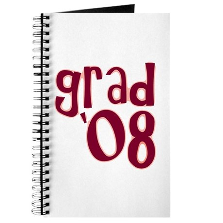 Grad 08 - Brick Red - Journal