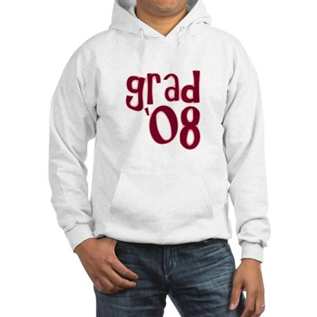 Grad 08 - Brick Red - Hooded Sweatshirt