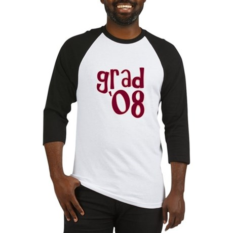 Grad 08 - Brick Red - Baseball Jersey