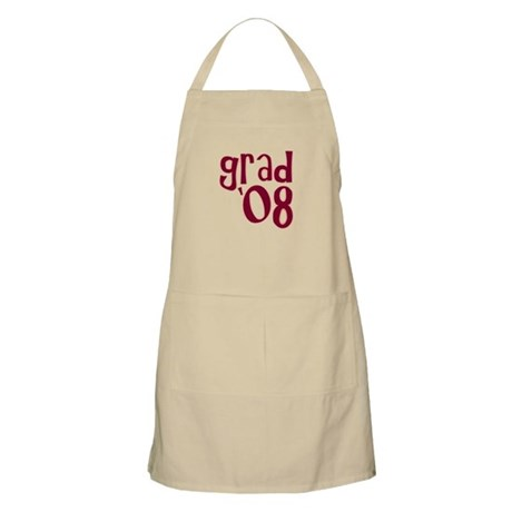 Grad 08 - Brick Red - BBQ Apron