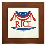 Rice Framed Tile
