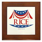 Rice Framed Tile