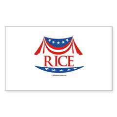 Rice Rectangle Sticker