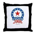 Condi 2008 Throw Pillow