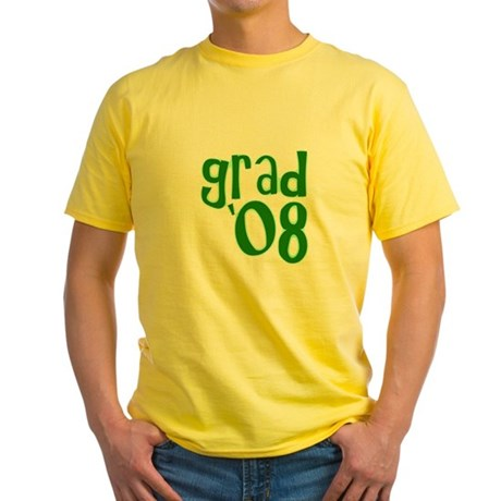 Grad 08 - Green - Yellow T-Shirt