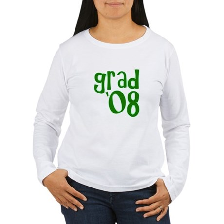 Grad 08 - Green - Women's Long Sleeve T-Shirt