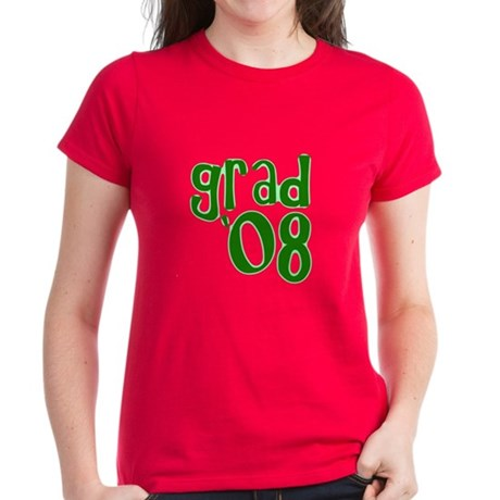 Grad 08 - Green - Women's Dark T-Shirt