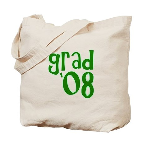 Grad 08 - Green - Tote Bag