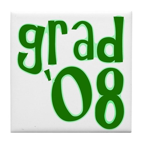 Grad 08 - Green - Tile Coaster