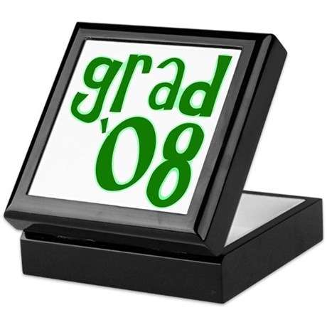 Grad 08 - Green - Keepsake Box
