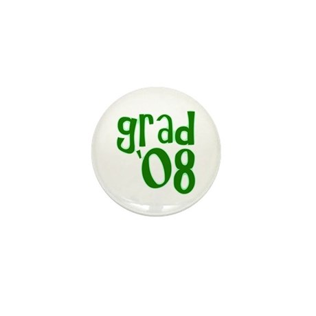 Grad 08 - Green - Mini Button (10 pack)