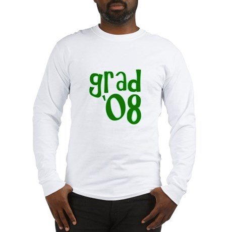 Grad 08 - Green - Long Sleeve T-Shirt