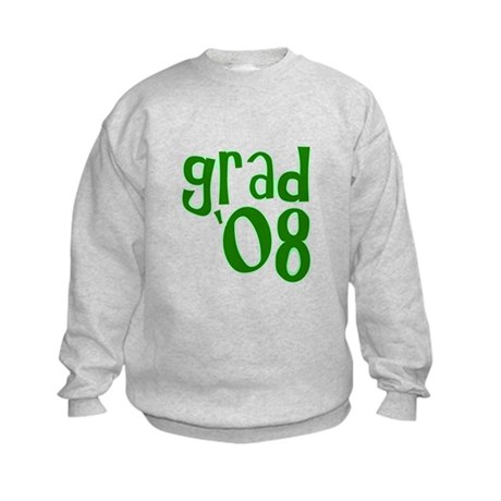 Grad 08 - Green - Kids Sweatshirt