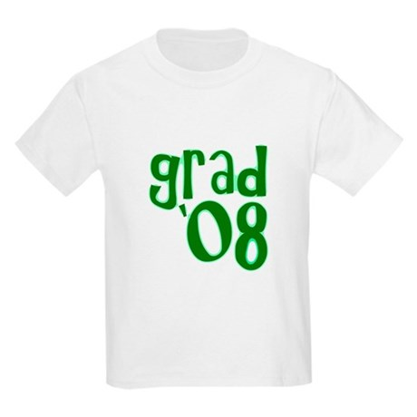 Grad 08 - Green - Kids Light T-Shirt