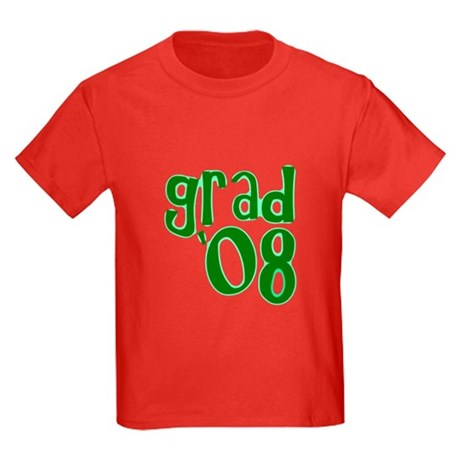 Grad 08 - Green - Kids Dark T-Shirt