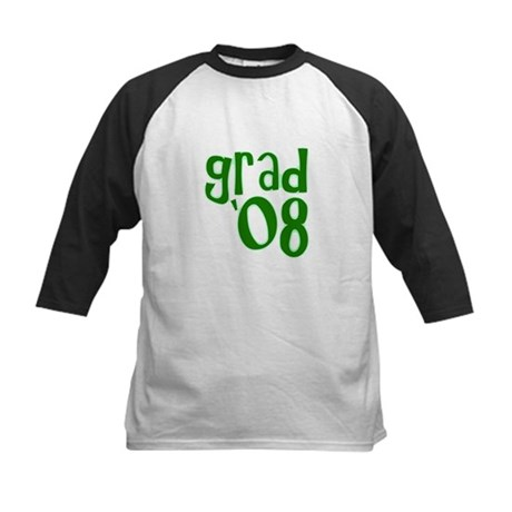 Grad 08 - Green - Kids Baseball Jersey