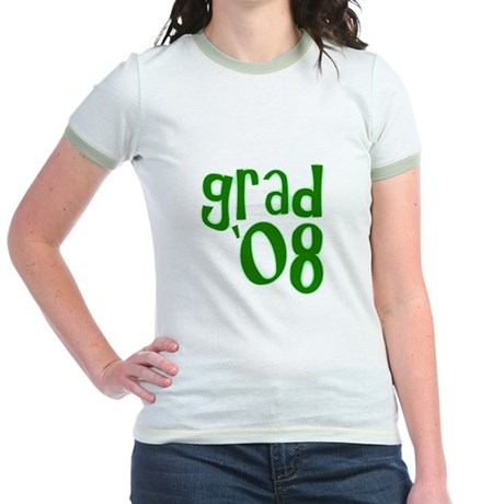 Grad 08 - Green - Jr. Ringer T-Shirt