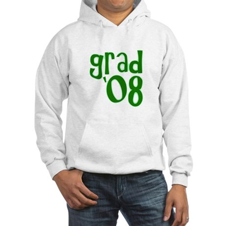 Grad 08 - Green - Hooded Sweatshirt