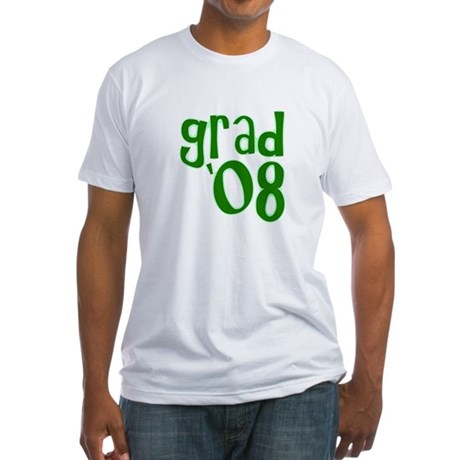 Grad 08 - Green - Fitted T-Shirt