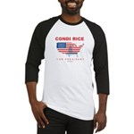 Condi Rice for President Baseball Jersey