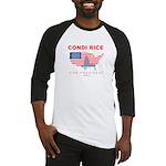 Condi Rice for President Baseball Jersey
