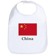 China Flag Bib