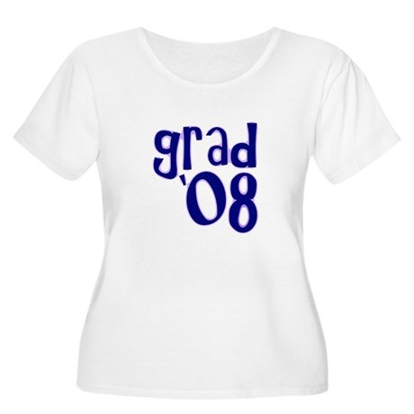 Grad 08 - Purple - Women's Plus Size Scoop Neck T