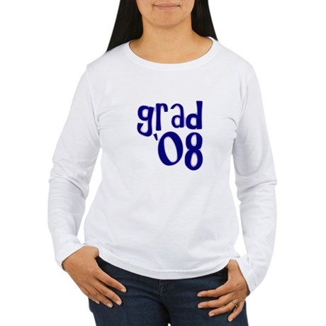Grad 08 - Purple - Women's Long Sleeve T-Shirt