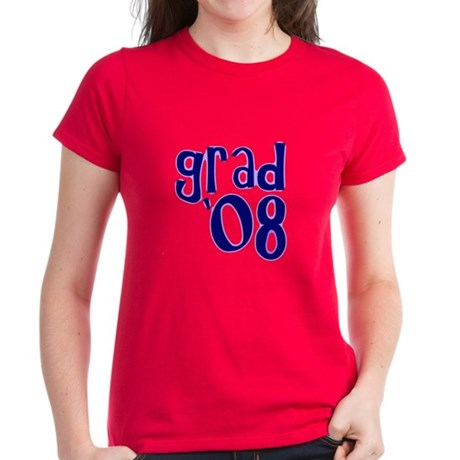 Grad 08 - Purple - Women's Dark T-Shirt