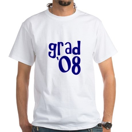 Grad 08 - Purple - White T-Shirt