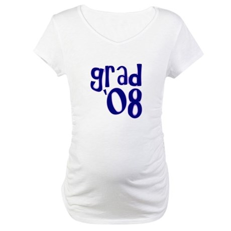 Grad 08 - Purple - Maternity T-Shirt