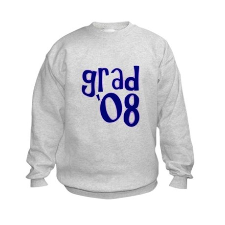 Grad 08 - Purple - Kids Sweatshirt