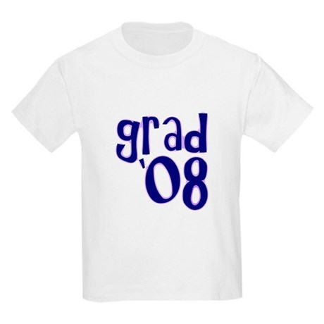 Grad 08 - Purple - Kids Light T-Shirt