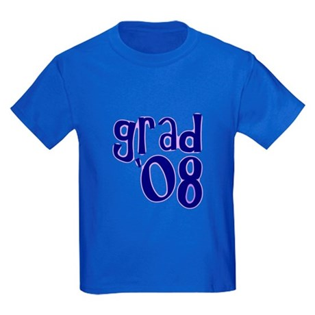 Grad 08 - Purple - Kids Dark T-Shirt