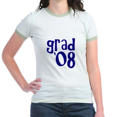 Grad 08 - Purple - Jr. Ringer T-Shirt