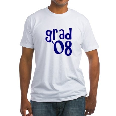 Grad 08 - Purple - Fitted T-Shirt