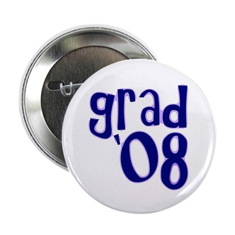 "Grad 08 - Purple - 2.25"" Button (10 pack)"