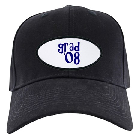 Grad 08 - Purple - Black Cap